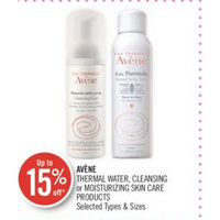 Avene Thermal Water, Cleansing Or Moisturizing Skin Care Products