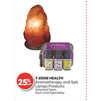 T-Zone Health Aromatherapy And Salt Lamps Products
