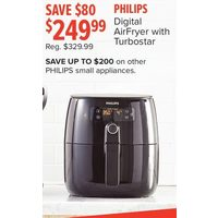 Philips Digital Airfryer With Turbostar