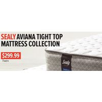 Sealy Aviana Tight Top Mattress Collection-Twin