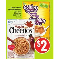 General Mills Golden Grahams Or Cheerios
