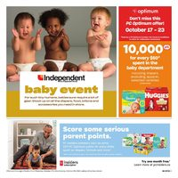 Your Independent Grocer - Baby Event Flyer