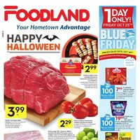 Foodland - Weekly Specials - Happy Halloween Flyer