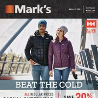 - 6 Days of Savings - Beat The Cold Flyer
