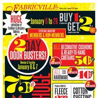 Fabricville - Value Never Looked Sew Good Flyer