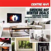 Centre HIFI - Weekly - Smoking Hot Winter Deals Flyer