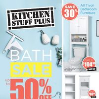 Kitchen Stuff Plus - Bath Sale Flyer