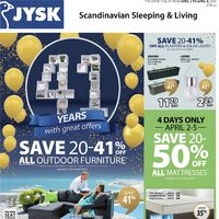 JYSK - Weekly Specials Flyer