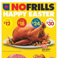 - 6 Days of Savings - Happy Easter Flyer