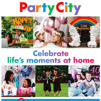 Party City - Celebrate Life's Moment At Home Flyer