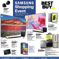 Best Buy - Weekly - Samsung Shopping Event Flyer
