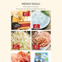 Robert's Boxed Meats - Weekly Specials Flyer