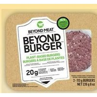 Beyond Meat Plant Based Burgers
