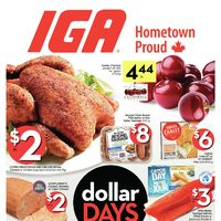 IGA - Weekly - Dollar Days Flyer