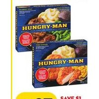 Hungry-Man Frozen Dinner
