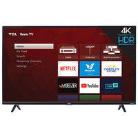 "TCL 43"" 4K Roku HDR Smart LED TV"