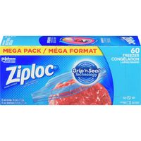Ziploc Mega Sandwich, Snack or Freezer Bags