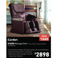 iComfort IC6600 Massage Chair