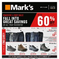 - Fall Into Great Savings Flyer