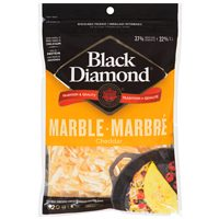 Black Diamond Cheese Bars or Shredded Cheese