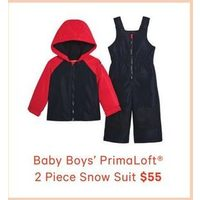Baby Boys' Primaloft Snow Suit
