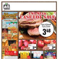 AG Foods - 2 Week Case Lot Sale Flyer