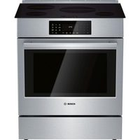 Bosch Induction Slide-In Range W Genuine Convection Oven