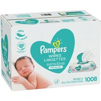 Huggies 16x Or Pampers 14/15x Wipes