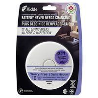 Kidde 10-Year Worry-Free Smoke and Carbon Monoxide Combination Alarm