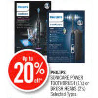 Philips Sonicare Power Toothbrush Or Brush Heads