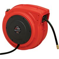 Reelworks 1/2 In. x 50 Ft Retractable Enclosed Air Hose Reel