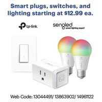Smart Plugs, Switches and Lighting