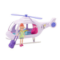 Polly Pocket Play Sets  - Vacation Helicopter
