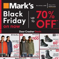 Mark's - Black Friday On Now Flyer