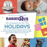Babies R Us - Weekly - All Wrapped Up Flyer