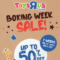 - Boxing Week Sale Flyer