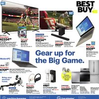 Best Buy - Weekly - Gear Up For The Big Game Flyer