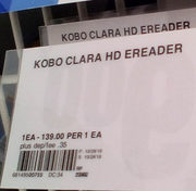Kobo Clara HD e-reader $58.98 YMMV