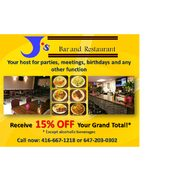 Get 15% Off On Any Functions Hosted With Us