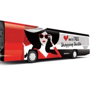 Vaughan Mills: FREE Shuttle from Union Station to Vaughan Mills Shopping Centre