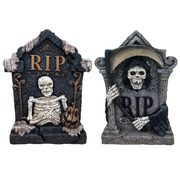 "1'10"" Lighted Tombstones - $24.88"