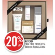 20% Off Reversa Skin Care Products