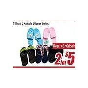 T.Rinex & Koluchi Slipper Series  - 2/$5.00