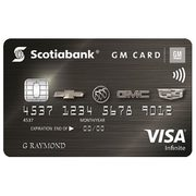 Scotiabank® GM®* Visa Infinite* Card: $75 e-Gift Card Upon Approval