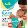 Pampers Baby Dry, Swaddlers or Cruisers Econo Size Diapers - $37.25