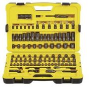 Stanley 122-piece Professional Grade Black Chrome Socket Set - $79.99 ($200.00 Off)