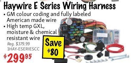 KMS Tools: Haywire E Series Wiring Harness - RedFlagDeals.com on