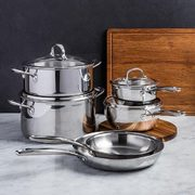 Kitchen Stuff Plus Red Hot Deals: OXO Good Grips 10-Pc. Cookware $240, KSP Nook Corner Wall Shelf $25 + More!