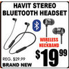 Havit Stereo Bluetooth Headset - $19.99