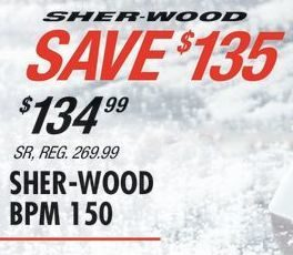 Pro Hockey Life: Sher-Wood BPM 150 - SR - RedFlagDeals com